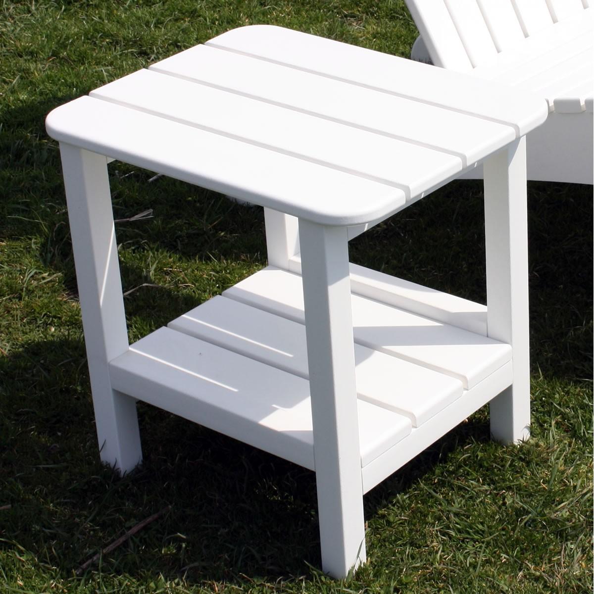 Malibu Outdoor Rectangular End Table 15 X 19 Inch