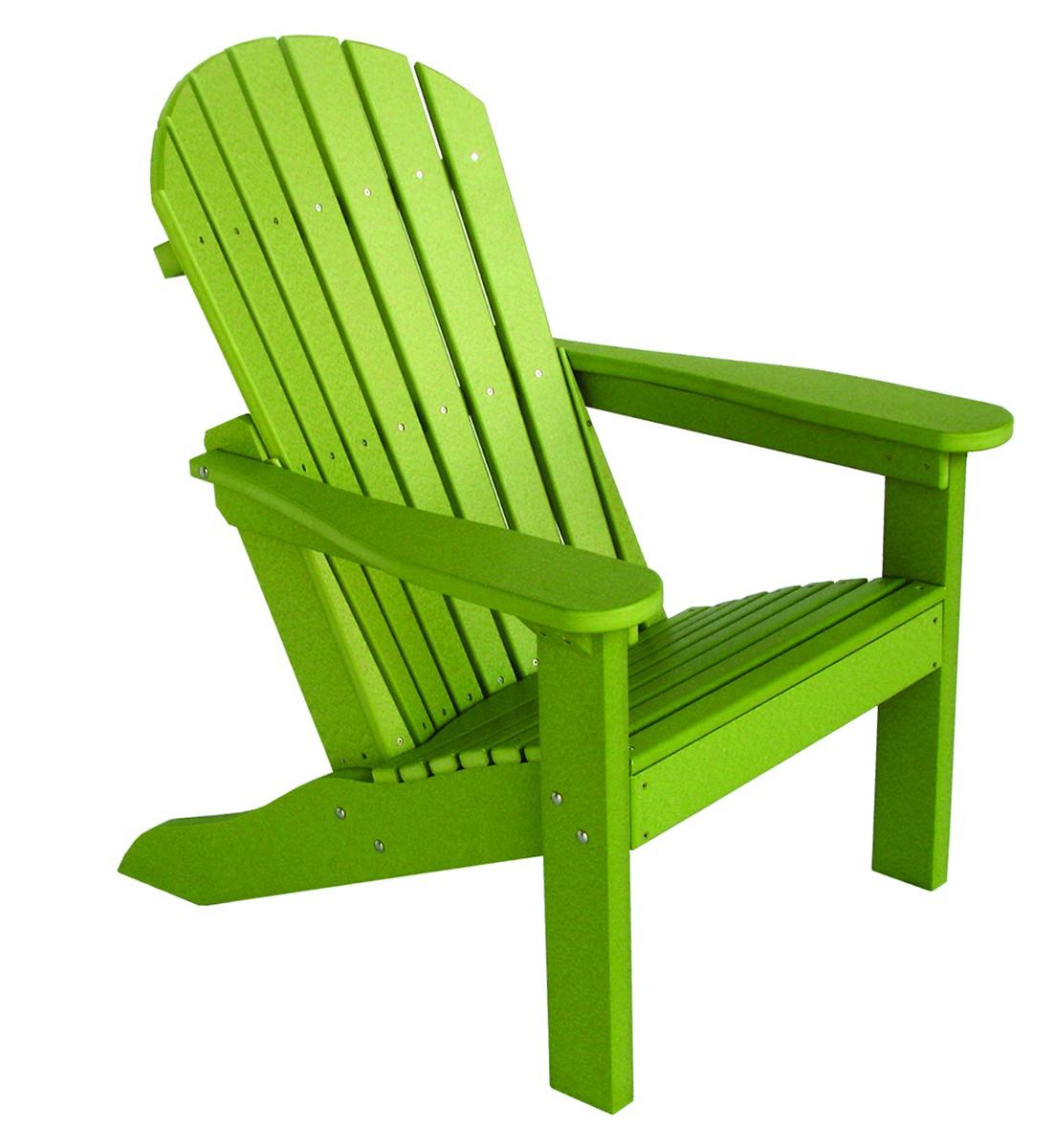 Berlin Gardens Collection Tropical Adirondack Chair