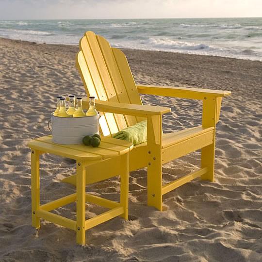 Patio Furniture In Long Island: Poly-Wood Long Island Adirondack Chair