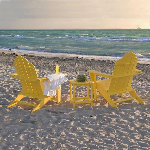 Patio Furniture In Long Island: Poly-Wood® Long Island Adirondack Seating Set