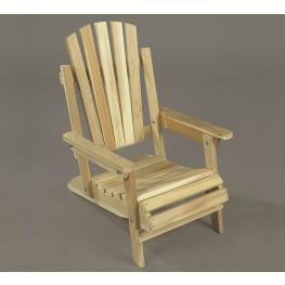Rustic Natural Cedar Adirondack Junior Chair