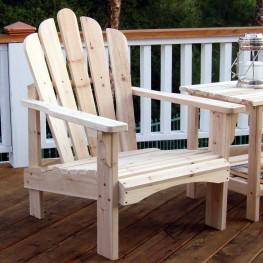 Westport Living Chair - Natural