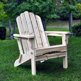 Marina Adirondack Folding Chair  - Natural