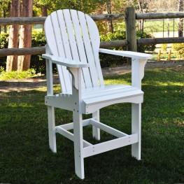 Captiva Counter High Chair - White