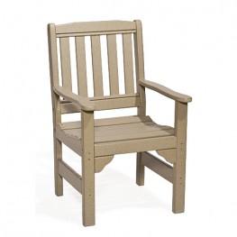 Poly Lumber English Garden Chair