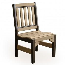 Poly Lumber Garden Chair w/o Arms