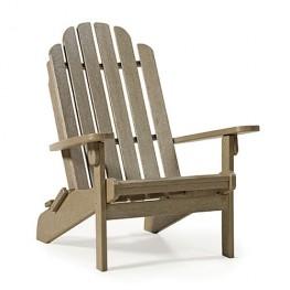 Siesta Recycled Poly Lumber Bayfront Folding Adirondack Chair