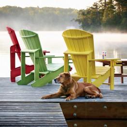 CR Plastics Generations Adirondack Chair