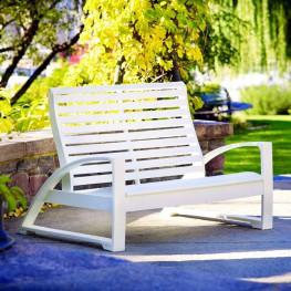 CR Plastics St. Tropez Love Seat