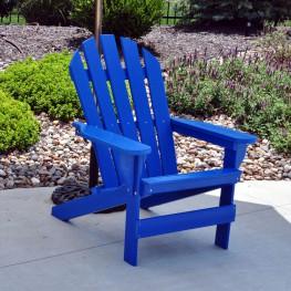 Frog Furnishings Cape Cod Adirondack Chair - Blue