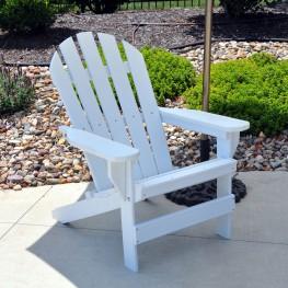 Frog Furnishings Cape Cod Adirondack Chair - White