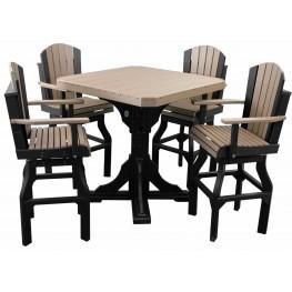 Crestville Adirondack Bar Table Set