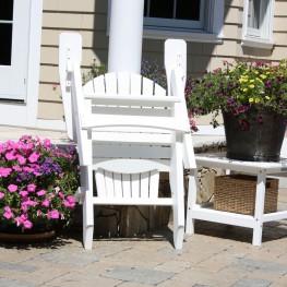 Malibu Outdoor Hyannis Folding Adirondack Chair