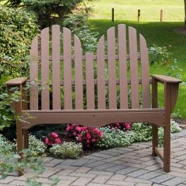 POLYWOOD® Classic Adirondack Bench