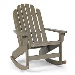 Siesta Recycled Poly Lumber Bayfront Adirondack Rocking Chair
