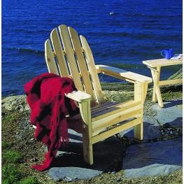 Rustic Natural Cedar Adirondack Chair