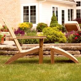 Adirondack Chair - Footstool Seating Set