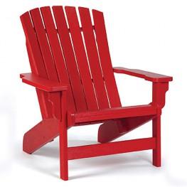 Siesta Recycled Poly Lumber Westport Adirondack Chair